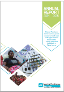 cover of 14 to 15 annual report