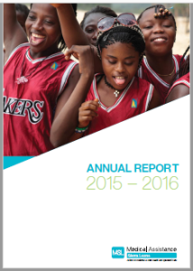 Cover of 15 to 16 Annual Reprt